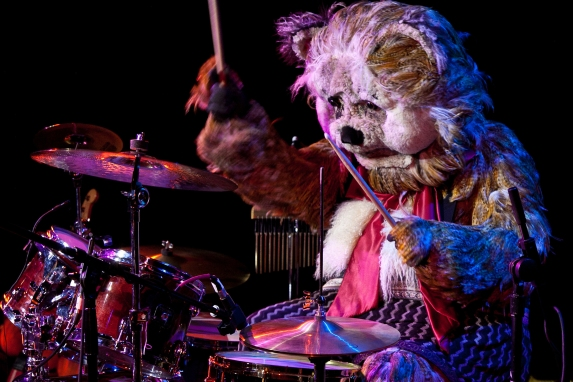 The Drumming Bear